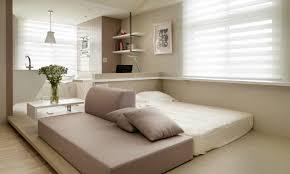 One Bedroom Apartments Decorating Small Studio Apartment Decorating Ideas Warm Feel Studio