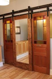 image of interior sliding door barn style sliding doors