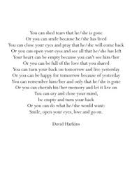 Funeral Readings on Pinterest | Funeral Poems, Eulogy Quotes and ... via Relatably.com