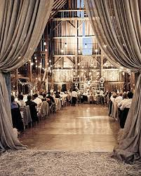 drapery wedding barn barn wedding lights