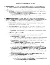 professional responsibility bar essay checklist  oxbridge notes  related professional responsbility bar exam samples professional responsibility bar essay checklist