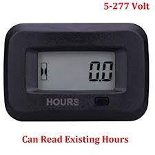 Searon Digital Hour meter of 12V <b>24V</b> 36V <b>48V 110V 220V</b> 230V AC ...