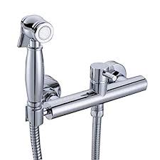 HANEBATH Brass Hot and Cold Toilet <b>Bidet</b> Faucet Sprayer Kit ...