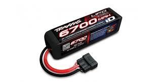 <b>Аккумулятор</b> Li-Po, <b>6700мАч</b>, 4S, 14.8В. <b>Traxxas</b> 2890X.