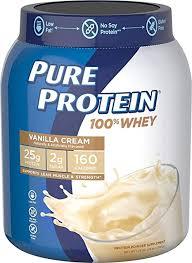 Pure Protein Powder, Whey, High Protein, Low Sugar ... - Amazon.com
