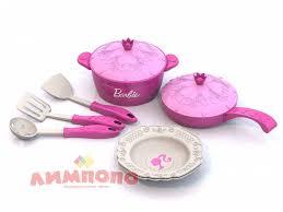 <b>Набор</b> кухонной посудки <b>НОРДПЛАСТ</b> Барби, 9 предметов ...