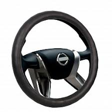 <b>Оплетка на руль VOIN</b> CLASSIK экокожа, М /черный/
