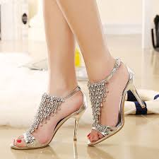 Lucyever 2019 Summer <b>Women's Luxury Rhinestones</b> Sandals ...