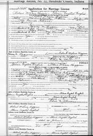 hendricks county na genealogy blog research tip marriage these applications had to be filled out for both the bride and groom and asked several questions of them including their parents residences and