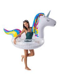 <b>Круг надувной Unicorn</b> Glitter <b>BigMouth</b> 8162767 в интернет ...