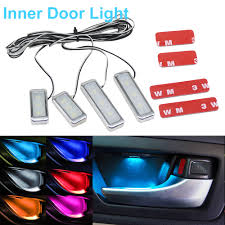 <b>1set Atmosphere Lamp Lights</b> Interior Auto Decorative Inner Door ...