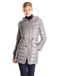 Kenneth Cole <b>Women's</b> Lightweight Packable <b>Jacket</b> with Cinch ...