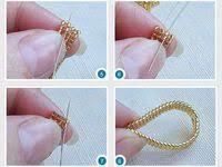кольца: лучшие изображения (22) | Кольца, Бисероплетение и ...