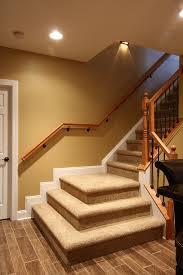 basement stairs design basement stairway lighting