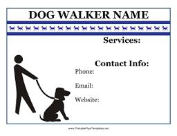 Flyer_For_Dog_Walker.png Flyer For Dog Walker Printable Template