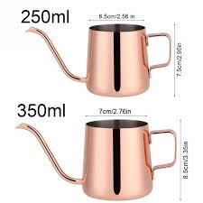 <b>250ml</b>/350ml Drip <b>Coffee Pot</b> Long Gooseneck Spout Kettle Cup ...