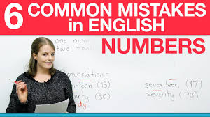 how to write numbers in english    common mistakes   youtube how to write numbers in english    common mistakes
