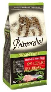 <b>Корм</b> для кошек <b>Primordial</b> (2 кг) <b>Grain</b> Free Cat Urinary Turkey ...