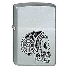 <b>Зажигалка Zippo</b> Tattoo <b>Skull</b> (205)
