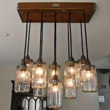 mason jar lamp chandelier build diy mason jar chandelier