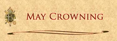 Image result for may mary crowning