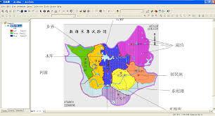 arcgis地图效果 北级素材网 arcgis地图效果 利用arcgis进行地图生产