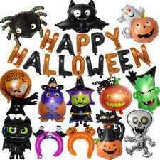 New <b>Halloween</b> Balloon <b>Aluminum Ghost</b> Balloons <b>Pumpkin</b> ...