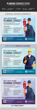 plumbing service flyer by artchery graphicriver plumbing service flyer corporate flyers
