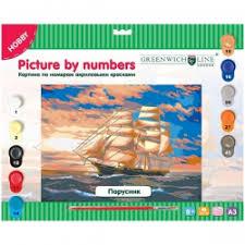 Отзывы о <b>Картины по номерам</b> Hobby <b>Greenwich</b> Line