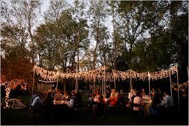 backyard wedding lighting ideas backyard party lighting ideas