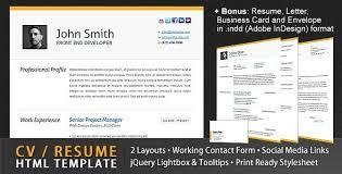 free and premium resume cv html website templates and layouts      free and premium resume cv html website templates and layouts   designmodo