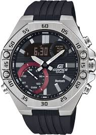 <b>Мужские</b> наручные <b>часы Casio ECB</b>-<b>10P</b>-<b>1AEF</b> кварцевые
