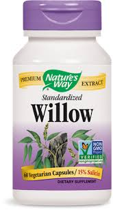 <b>Willow</b> / 60 Caps - Nature's Way®.