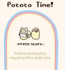 Kawaii potato! on Pinterest | Potatoes, Kawaii and Adorable Guys via Relatably.com