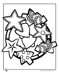 Small Picture Christmas Cookies Coloring Page Woo Jr Kids Activities