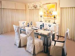 Linen Dining Room Chair Slipcovers Best Dining Room Chair Covers Home Improvings