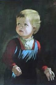 фото  Проклятье «Плачущего мальчика»
