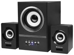Купить Компьютерная <b>акустика Defender</b> V10 black по низкой ...