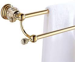 CASEWIND <b>European</b> Double Towel Bar Holder Towel Rail, all <b>Zinc</b> ...