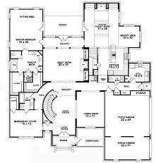 bdrms Story Bedroom House Plans  Sseventdesign co