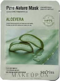 "<b>Тканевая маска</b> для лица ""<b>Алоэ</b> Вера"" - Secriss Pure <b>Nature</b> Aloe ..."