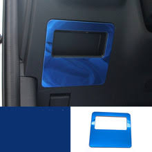<b>lsrtw2017 stainless steel car</b> driver seat storage box handle trims for ...