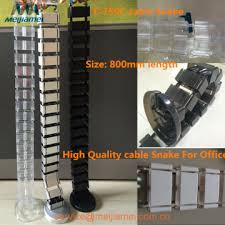 abs plastice cable snake for office furniture china ce approved office furniture