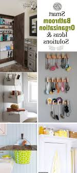 dwell bathroom ideas  bathroom  smart bathroom organization ideas amp solutions noted list within clever bathroom storage regarding
