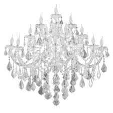 chandeliers bathroom versailles light white
