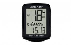 <b>Велокомпьютер Sigma</b> Topline <b>BC 7.16</b> ATS, 7 функций ...