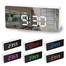 NEW <b>Creative LED Digital Alarm</b> Clock Night Light Thermometer ...