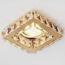 <b>Встраиваемый светильник Ambrella</b> light Crystal K110 CL/G ...