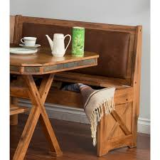room custom rustic breakfast nook set with storage bench under seat storage bench seat room amish corner breakfast nooks