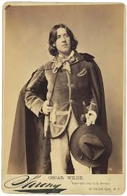 the importance of being wilde lapham s quarterly oscar wilde carte de e by napoleon sarony 1882